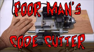 (462) Code Cutting Keys (Poor Man's Version)