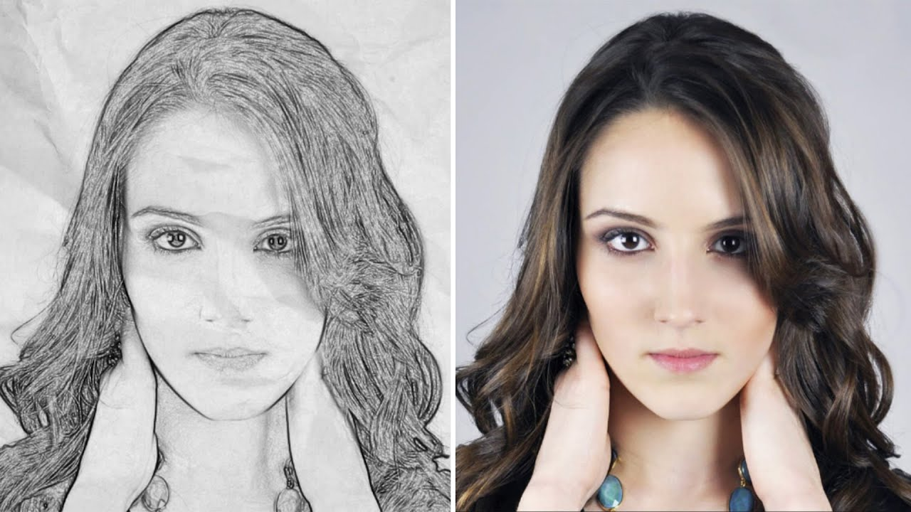 Change your photo to pencil sketch