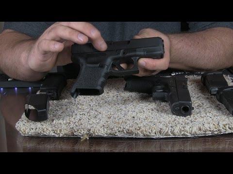 Glock 30S Subcompact .45 ACP Pistol Introdution and Range Review Part 1