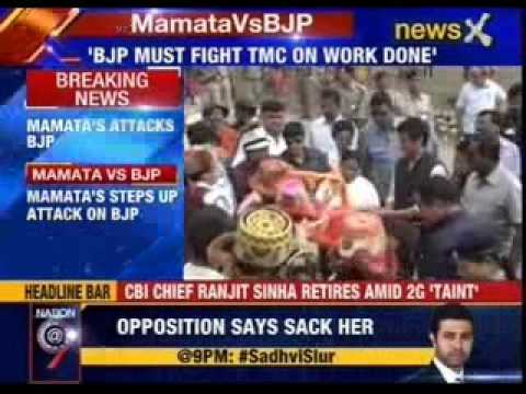 Mamata Banerjee steps up attack on BJP