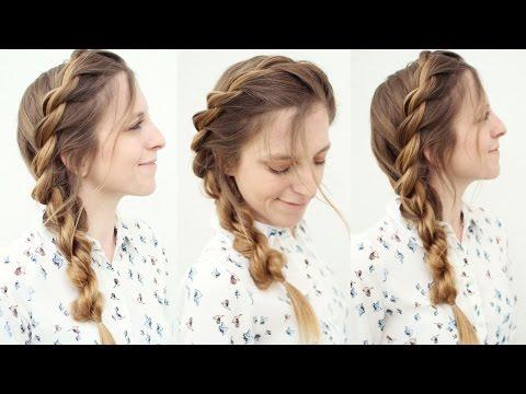 Easy Rope Twist Braid Hairstyle | Summer Hairstyle Ideas | Braidsandstyles12