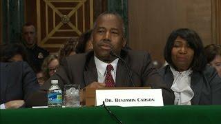 Dr. Ben Carson addresses HUD qualifications