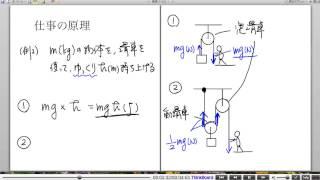 高校物理解説講義:「仕事と力学的エネルギー」講義5