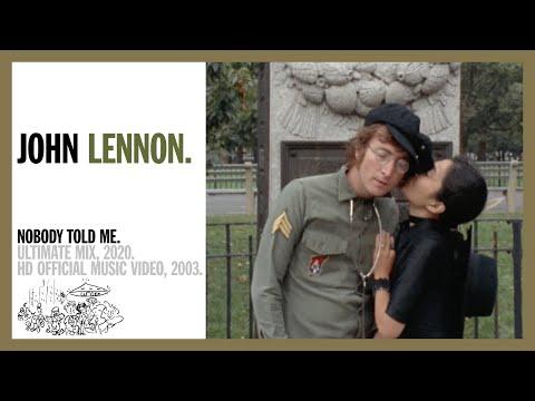 Леннон Джон - Nobody Told Me