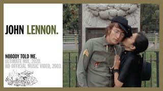 Nobody Told Me John Lennon