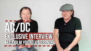 AC/DC Video - AC/DC: Angus + Brian Discuss Malcolm's Absence