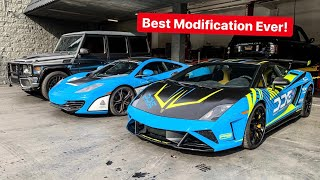 MAJOR PERFORMANCE MOD UPGRADE FOR MY LAMBORGHINI! *DAMON BREAKS FERRARI*