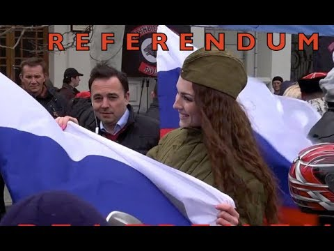 Sevastopol and Crimea Celebrate Referendum Results!