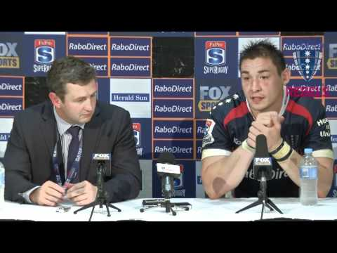 Rebels Rd.7 Blues post-match press conference - Rebels Rd.7 Blues post-match press conference