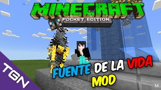 Minecraft Pocket Edition 0.13.1-Fuente de la Vida Mod