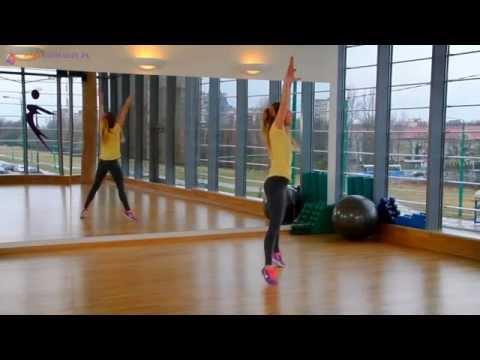 Ćwiczenia na smukłe uda i jędrne pośladki#1 - super skuteczny trening