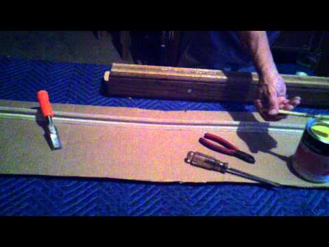 Pool table - replacing rail cushion rubber bumper - Part 2