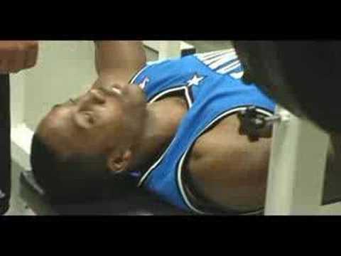 Orlando Magic Dwight Howard Gets An Athlete Evaluation