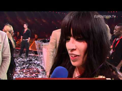 Loreen interview after winning the 2012 Eurovision Song Contest