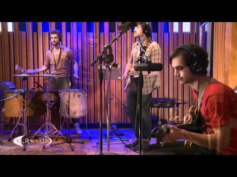"White Rabbits performing ""Heavy Metal"" on KCRW"