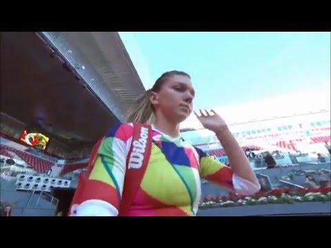 2016 Mutua Madrid Open First Round | Simona Halep vs Misaki Doi | WTA Highlights
