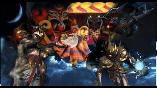 A Ninja with his Shadow Clone vs 5* Yojimbo & Doggo (no Supreme and only Ultimates as Attack)