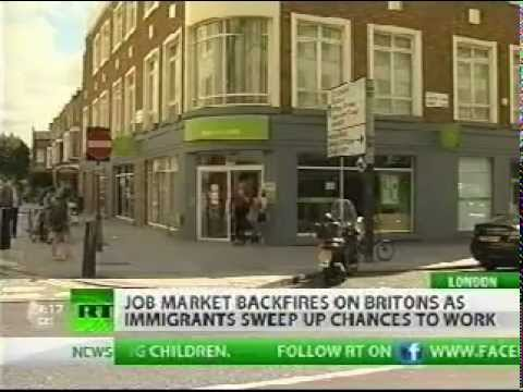 Up to 92% UK Jobs go to immigrants - jobcentre plus