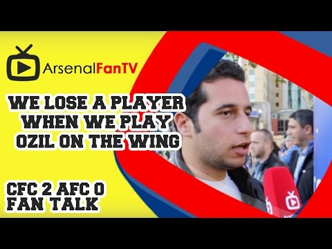 We Lose A Player When We Play Ozil On The Wing - Chelsea 2 Arsenal 0