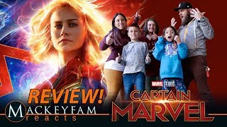 Marvel Studios' Captain Marvel- MOVIE REVIEW!!!
