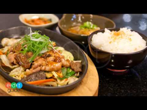 อาหารทางร้าน Hakone Restaurant _Gateway Ekamai.mp4