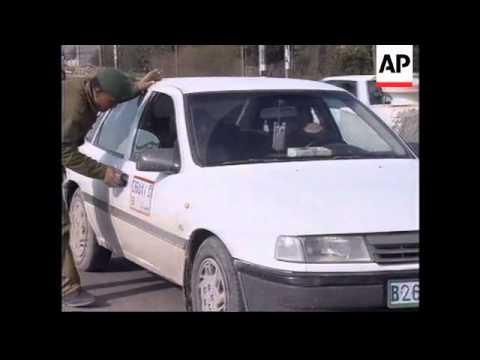 WEST BANK/GAZA: ISRAELI TROOPS RAID REFUGEE CAMP NEAR HEBRON