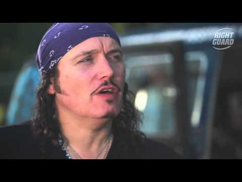 Exclusive interview with Adam Ant for OFF GUARD GIGS at Bestival, Isle of Wight, 2012