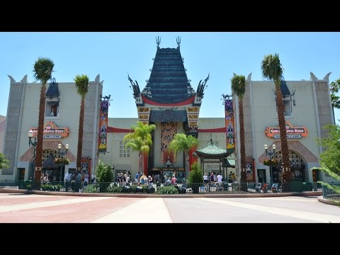 Chinese Theater at Disney's Hollywood Studios Walls Down, Returns Classic View at Walt Disney World