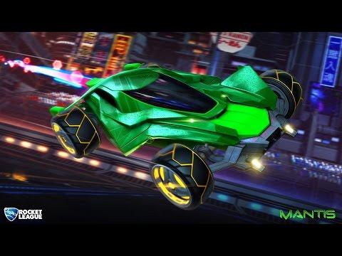 Rocket League   NEW MANTIS REVIEW/IMPRESSIONS