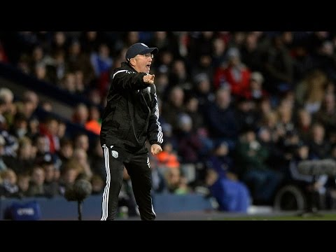 Tony Pulis is interviewed after Albion beat Hull City 1-0 in his first Premier League game in charge