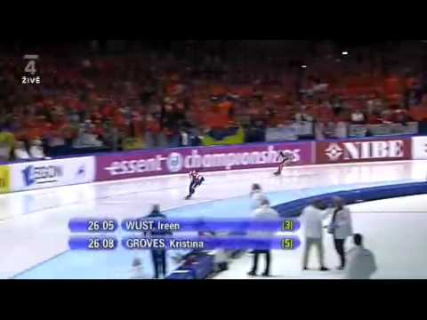 World Allround Championships 1500m Women 2010 Heerenveen