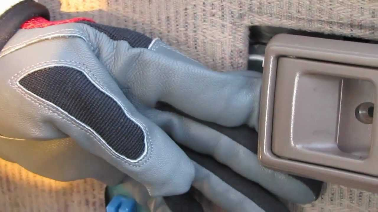 Toyota Tacoma Door Panel Removal Part 3 Interior Door Handle Youtube