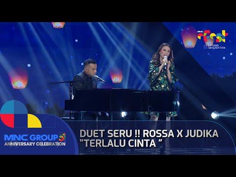 Download Lagu Duet Seru !! Rossa Feat Judika Terlalu Cinta - MNC GROUP 31 ANNIVERSARY CELEBRATION.mp3