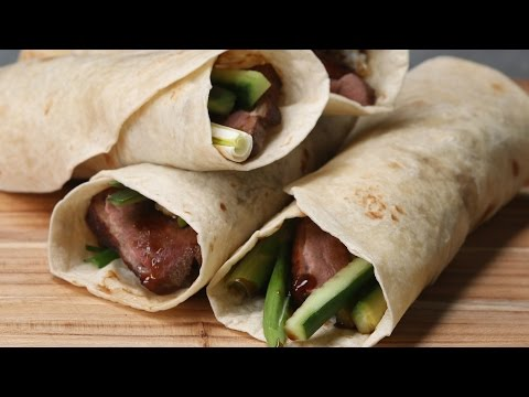 Peking Duck-Inspired Burrito