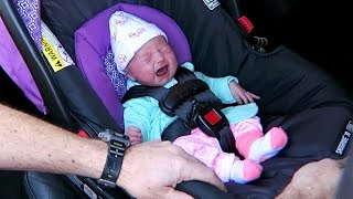 Baby Loves Her Car Seat!!!