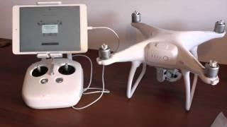 Drone Dji Phantom 4 Da Caixa Até Primeiro Voo Brasil Unboxing Review Beedrones.com.br