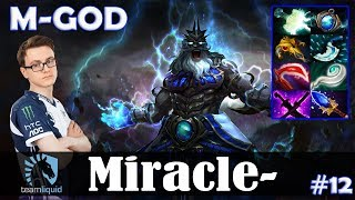 Miracle - Zeus MID | M-GOD | Dota 2 Pro MMR Gameplay #12
