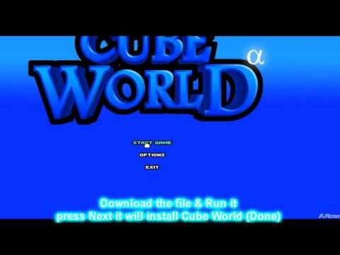 [UPDATED]How To: Download Cube World 2013 - [NO Surveys] - AUTO INSTALL -  Direct download!
