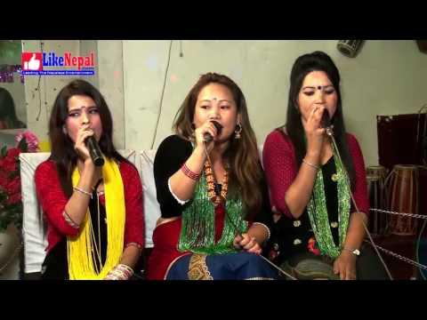 पन्चेबाजामा LIve Dohori Ghamsa Ghamsi By Santosh Gurung & Laxmi Thapa