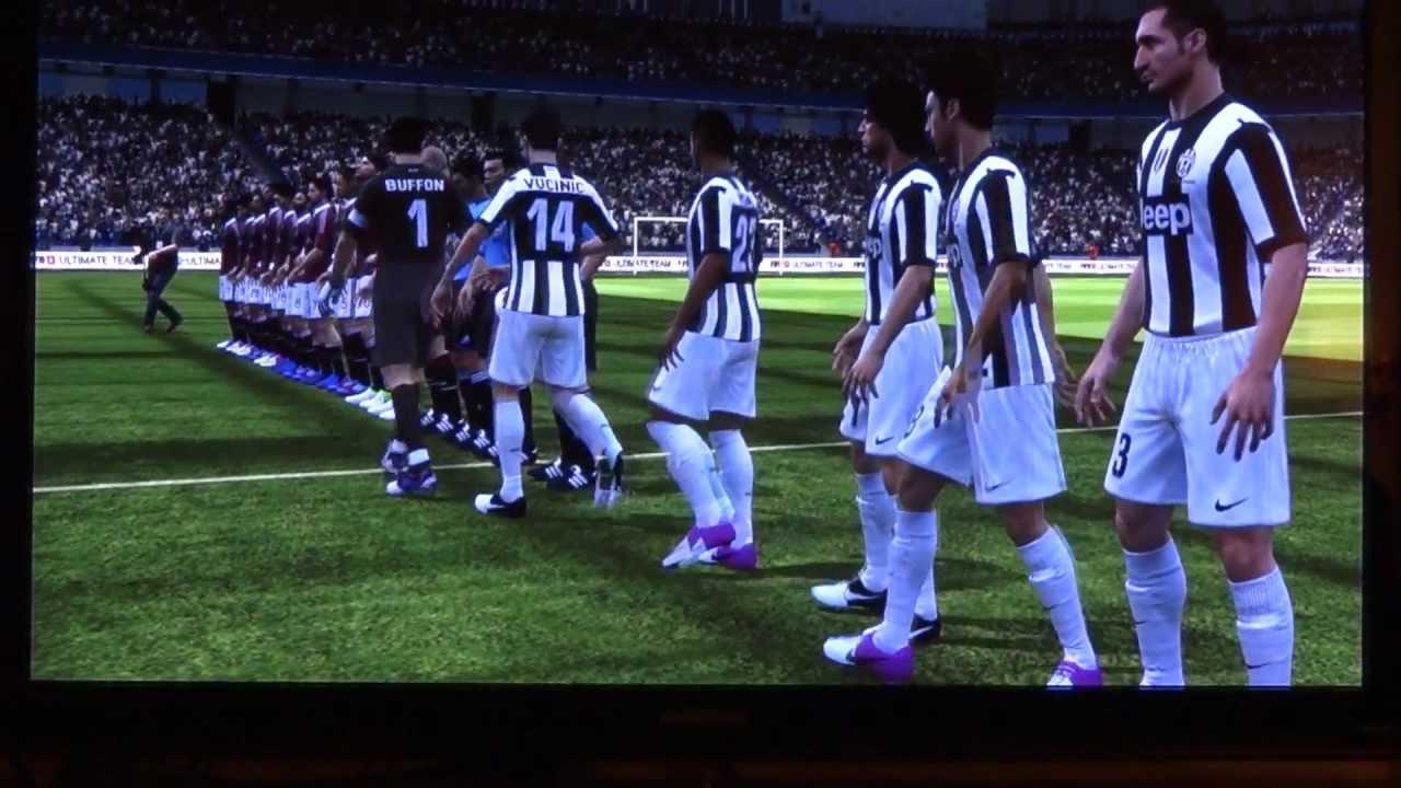 Stats Milan Fifa 13 Fifa 13 Juventus vs Milan