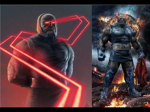 Darkseid - Evolution in Cartoons and Series (1984-2017)