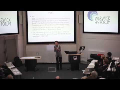 Waltraud Schelkle, Warwick PPE Forum