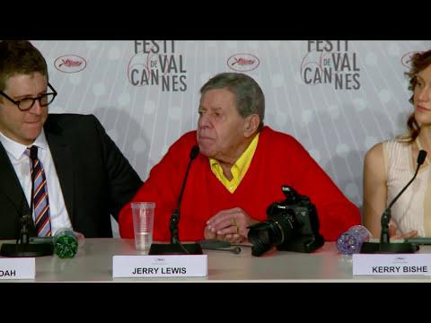 Jerry Lewis homenageado em Cannes