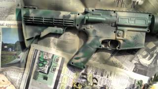 How To Paint Woodland Camouflage