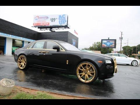 WhipAddict: Rolls Royce Ghost on gold 24
