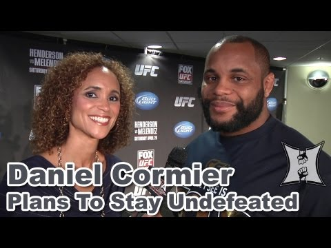 UFC on FOXs Undefeated Daniel Cormier Says Frank Mir Will Have To Teach Me How To Lose