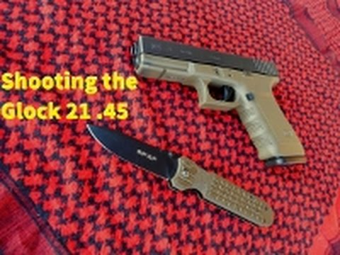 Shooting: Glock 21 (SF. Gen 3. .45 ACP)