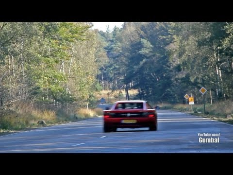 Dodge Viper GTS Heffner 650 vs Ferrari Testarossa - LOUD fly by!! - 1080p HD