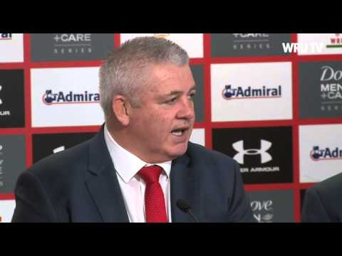Post match reaction from Warren Gatland