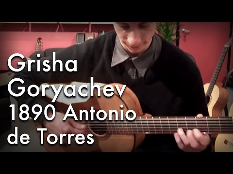 Grisha Goryachev experiences a real Torres guitar Music Videos